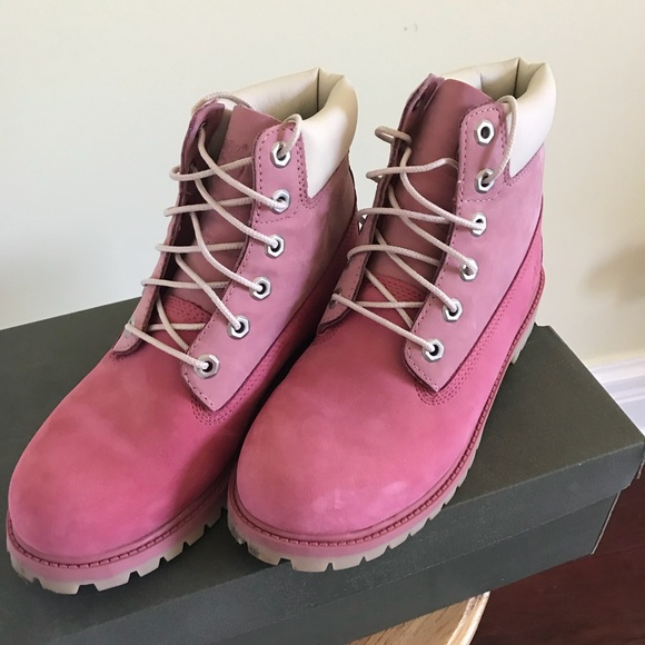 Timberland Shoes - Timberland size 7.5 pink boots